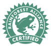 Certified Member of the Rainforest Alliance