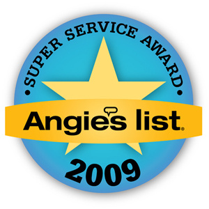 Southeast Texas Trees LLC receives Angie's List 2009 Super Service Award