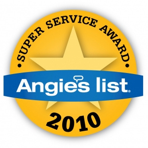 Southeast Texas Trees LLC - 2010 Angie's List Super Service Award