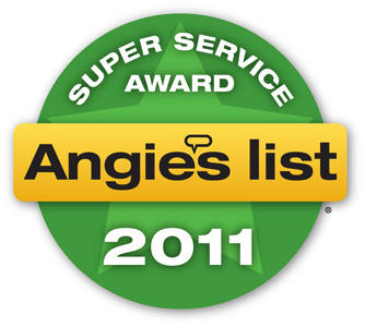 Southeast Texas Trees LLC receives Angie's List 2011 Super Service Award