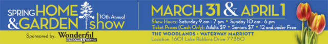 Southeast Texas Trees participates in 2012 Spring Home and Garden Show The Woodlands TX